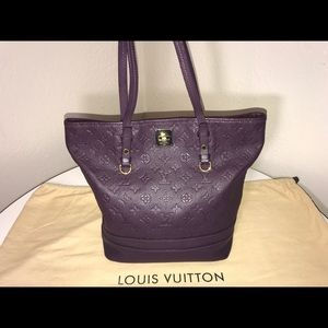 Authentic Louis Vuitton empreinte Citadines tote